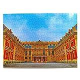 Francia Palacio de Versalles París Rompecabezas para Adultos, 500 Piezas de Madera, Regalo de Viaje, Recuerdo, 20.4 x 15 Pulgadas