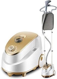 Xinxinchaoshi Garment Steamer Standing Steamer 2.2 Liter Smart Capacity Double Handle 1800W Steam Ironing Pendant Household Garment Steamer Mini Ironing Machine Powerful Fabric Steamer (Color : Gold)