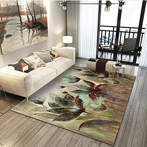 RRight! Tapis de Sol Morden Carpet Multicolore pour intérieur ou extérieur,D,160x230CM