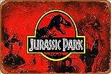 Cimily Jurassic Park Poster Vintage Blechschilder Zinn