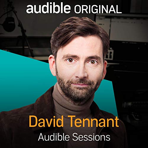 David Tennant audiobook cover art