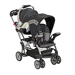 Sit and Stand stroller car seat compatible