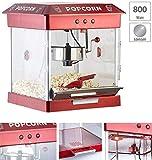 Rosenstein & Söhne Popcornmaschine mit Edelstahl-Topf und 800 Watt (Retro-Popcorn-Maschine) - 2
