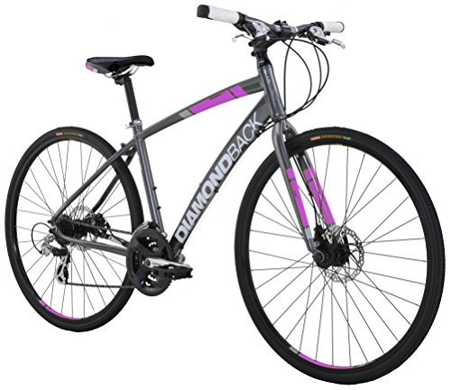 Diamondback Bicycles Women's Clarity 2 Complete Performance Hybrid Bike 20'/ Large