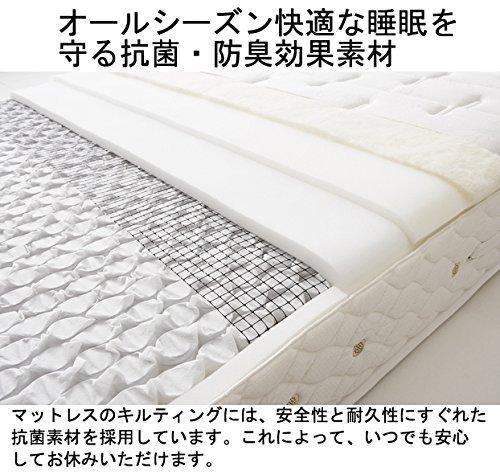 日本ベッド『シルキーポケットレギュラー』