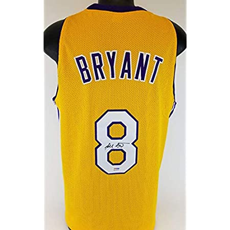 Kobe Bryant Lakers Signed Jersey w/Vintage Full Name Autograph PSA ...