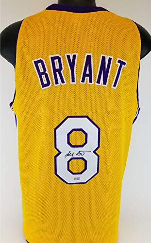 Kobe Bryant Lakers Signed Jersey w/Vintage Full Name Autograph PSA/DNA COA