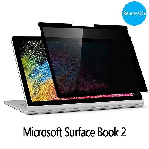 PaceBid Privacy Filter Blickschutzfilter Kompatibel mit Microsoft Surface Book 2 13.5 Inch, Blickschutzfolie | Privacy Filter | Laptop Blickschutzfilter -Wiederverwendbar