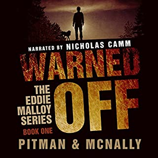 Warned Off audiobook cover art
