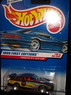 Hot Wheels 1999 First Editions -#10 Porsche 911 GT3 Cup Purple #912 Mint