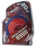 Renegade REN20KIT cavo di interfaccia e adattatore RCA Nero, Blu, Rosso...