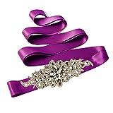TOPQUEEN Damen Gürtel Violett violett