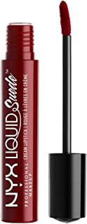 NYX PROFESSIONAL MAKEUP Liquid Suede Cream Lipstick, Cherry Skies