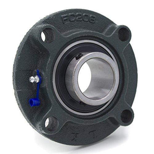 Flanschlager UCFC208, Ø 40 mm - Hauptabmessungen nach internationaler Norm