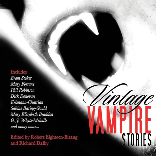 Vintage Vampire Stories audiobook cover art