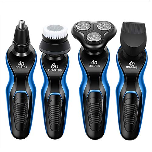 Best Professional Hair Clippers and Trimmer for Men Baby, Waterproof, Cordless All-in-1 Lithium Powered Grooming Kit, Beard Trimmer (C)