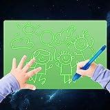 絵画ボード 蛍光製図板 A3 光製図落書きボード ELICE  玩具製図板 ペン2本とダイカード付き