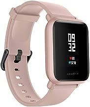 Relogio Xiaomi Amazfit Bip Lite rosa Smartwatch, Android iOS