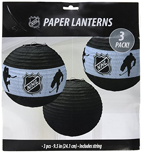 'NHL Ice Time! Collection' Paper Lanterns, Party Decoration
