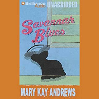Savannah Blues audiobook cover art