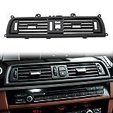 TTCR-II rejilla de aire delantera Compatible con BMW serie 5, Reemplazo de ventilación de CA, ventilación de aire de la consola central (F10/F11 520 523 525 528 530 535 550 2010-2016)