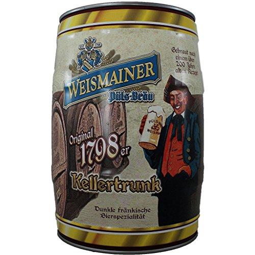 Weismainer 1798er Kellertrunk 5l Fass