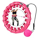 Best Hula Hoops - Detachable 24 Sections Smart Weighted Exercise Hoop Adults Review
