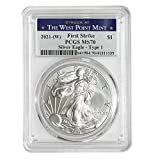Purity: .999 Fine Silver Metal Content: 1 Troy Ounce You will receive one coin per purchase Diameter: 40.6 mm; Thickness: 3.2 mm Stock Photo; Image is indicative of quality