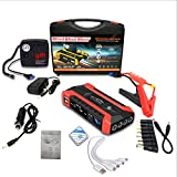 Bifrost Multifunktions Auto Starthilfe 12V 4USB 600A Tragbares Autobatterieladegerät Notstart...