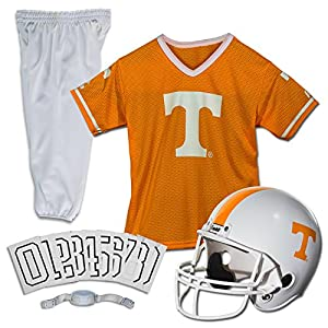 Franklin Sports NCAA Tennessee Volunteers Kids College Football Uniform Set - Youth Uniform Set - Includes Jersey, Helmet, Pants - Youth Small