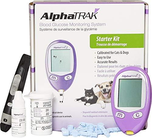 Zoetis AlphaTRAK 2 Blood Glucose Monitoring System Starter Kit for Dogs & Cats