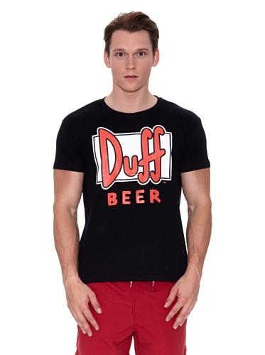 Licencias Camiseta Duff The Simpsons Negro M