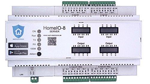 HomeIO-8 Rolladensteuerung Jalousiesteuerung Raffstore Steuerung Rollladensteuerung App