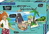 KOSMOS 606084 Pepper Mint und das Abenteuer auf der Geheimen Insel, Erforsche mit Pepper die Energie der Sonne, Experimente zu Solar-Energie, Experimentierkasten für Kinder ab 8 bis 11 Jahren -