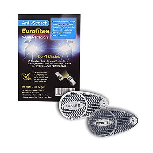 Preisvergleich Produktbild Eurolites Scheinwerfer-Deflektor,  Scheinwerfer-Konverter,  für das Fahren in Europa