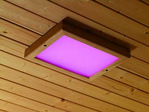 Karibu LED Farblicht Größe 2 inkl. Fernbedienung