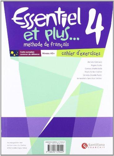 Essentiel Et Plus 4 Pack Cahier, Portadas Aleatorias