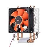 Fesjoy Ventilador de CPU hidráulico disipador de Calor silencioso, Compatible con Intel Core AMD Sempron Platform
