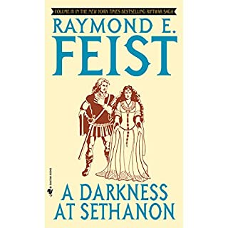 A Darkness at Sethanon     Riftwar Cycle: The Riftwar Saga, Book 4              Auteur(s):                                                                                                                                 Raymond E. Feist                               Narrateur(s):                                                                                                                                 Nicholas Guy Smith                      Durée: 19 h et 17 min     29 évaluations     Au global 4,7