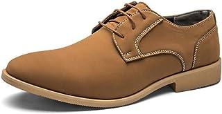 Fashion Men's Casual Shoes, Wild Shoes Men's Shoes, Shoes, Men's Boots (Color : Brown, Size : 46)