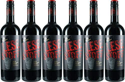 Lauffener Weingärtner Lesestoff® Rotwein Cuvée 2019 Halbtrocken (6 x 0.75 l)