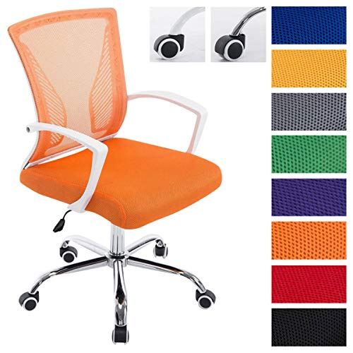 Silla Oficina Tracy en Malla Transpirable I Silla de Ordenador Regulable en Altura & Ergonómica I Silla de Escritorio con Ruedas I Color:,...