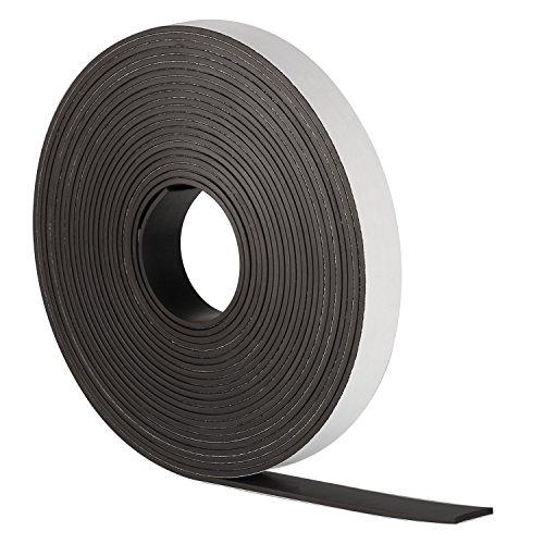 Bricolaje y Oficina,20 metros de largo,8 Tallas gotyou 8 rollos de cinta adhesiva de doble,Alta Resistencia Cintas de Doble,de alta calidad y resistente,blanco,para Manualidades