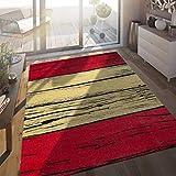 Paco Home Alfombra De Interior Y Exterior Bandera Española, tamaño:120x170 cm
