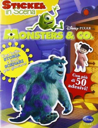 Monsters & Co. Sticker in scena