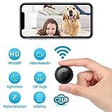 Best Spy Cameras - 1080P Wi-Fi Spy Camera Wireless Hidden Camera Small Review