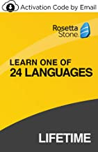 $199 » Rosetta Stone: Learn a Language with Lifetime Access - Choose from 24 Languages  [PC/Mac Online Code]