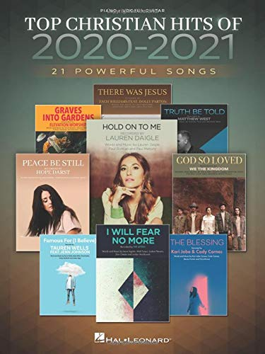 Compare Textbook Prices for Top Christian Hits of 2020-2021: 21 Powerful Songs Arranged for Piano/Vocal/Guitar  ISBN 9781705133460 by Hal Leonard Corp.