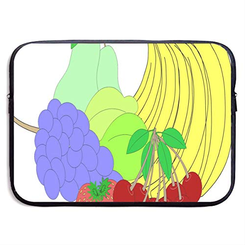 15 Inch Laptop Sleeve Briefcase Best Cartoon Fruit Neoprene Waterproof Handbag Protective Bag Cover Case for Surface Laptop/Notebook/Acer/Asus/Dell/Lenovo/iPad/Surface Book