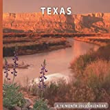 Texas Calendar 2022: 16 Month Calendar With Many Colorful Photos - Runs from September 2021 Through December 2022 . Size 8.5 x 8.5 Inches.